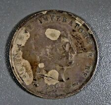 1808 M Italian States KINGDOM OF NAPOLEON 5 LIRE KM#10.7 Silver World Coin