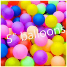 "5""inch Small Best Latex Balloons 25-200 Quality Standard Balloons Ribbons Baloon"