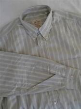 HUGO BOSS LUNGO -sleeve Camicia a righe taglia L 243 W
