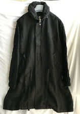 SILENT by DAMIR DOMA UNISEX BLACK LOOSE FIT PARKA SIZE S