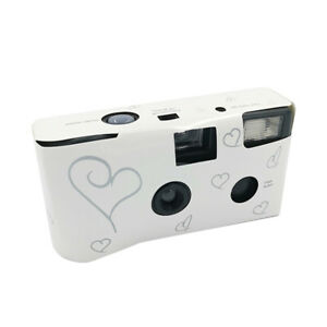 36 Photos Power Flash HD Single Use One Time Disposable Film Camera Party M6D4