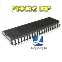 5PCS P80C32  Encapsulation:DIP new