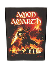 AMON AMARTH - SURTUR RISING - BACK PATCH - BRAND NEW - MUSIC BAND 0908