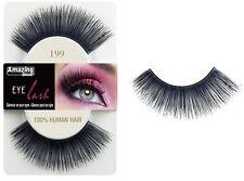 2 for Save 50p Shine 100 Human Hair Eyelashes False Eye Lashes 199