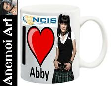 I Love Heart Abby Sciuto NCIS Mug Cup Secret Santa Gift Pauley Perrette