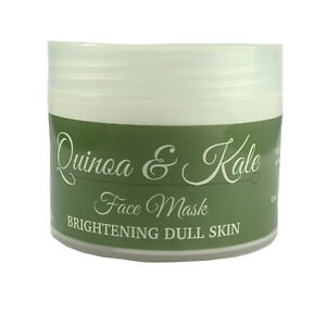 Face Mask Cream Quinoa & Kale Brightening Dull Skin Anti-Ageing 100ml By Cougar