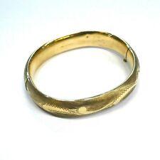 Filled Bracelet Antique Gold