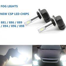 2Pcs Fog Light 55W LED Replacement Bulb 881 896 For Volvo VNL VN 2003-2015 6000K