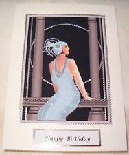 3D Art Deco Birthday Wife/Daughter/Neice/Aunt/Friend/General can be personalised