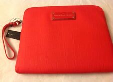 Marc by Marc Jacobs iPad M6121037 Wristlet Tablet Case Shock Red Handbag NWT