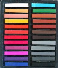 Chalk Pastels 24 Portrait Colors! Set ~ Free Shipping!