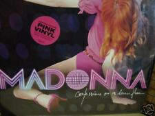 MADONNA CONFESSIONS DANCE FLOOR PINK VINYL ORIGINAL 2005 EUROPEAN PRESSED 2 LP