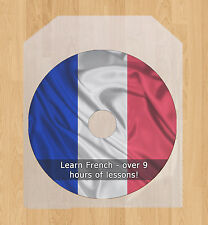 Learn how to speak French language course, 9 hrs audio tutorial talk lessons CD