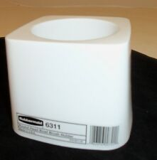 RUBBERMAID COMMERCIAL 6311 TOILET BOWL BRUSH CADDY HOLDER NEW WHITE *CADDY ONLY*