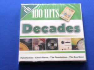 100 Hits Decades - 5CD SIGILLATO