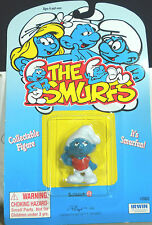Smurfs Slouchy Smurfling Rare Vintage Smurf Figure Schleich PVC Toy MOC 20402
