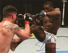 PHIL DAVIS SIGNED 8X10 PHOTO PROOF COA AUTOGRAPHED UFC 2