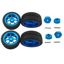 4Pcs RC Car Alloy Tires Wheels &Nut for 1/18 Wltoys A959-B A979-B A959 A969