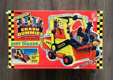 1992 TYCO Incredible Crash Test Dummies Dummy Dirt Digger - 100% Complete NIB