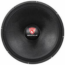 "Rockville RVW1800P4 1800 Watt 18"" Mid-Bass Driver Car Audio Speaker Mid-Range"