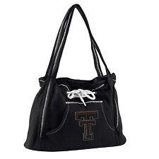 Littlearth Women's NCAA Texas Tech Sport Noir Hoodie Purse - Black