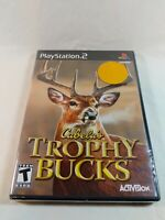 Brand New Cabela's Trophy Bucks Playstation 2 PS2 Video Game Sealed