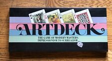 1984 Artdeck The Game of Modern Masters Impressionism to Surrealism New!