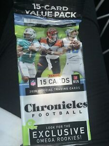 2020 Panini Chronicles NFL Value Fat Cello Pack Factory Sealed New Pack