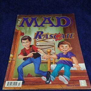 MAD EN ESPAÑOL, MAGAZINE MEXICAN EDITION, MAY 90's MINA RASCATE