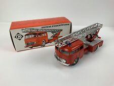 Alter CKO Feuerwehr 410 Rollo Serie (61624) Magirus Rundhaube Blechspielzeug Ovp