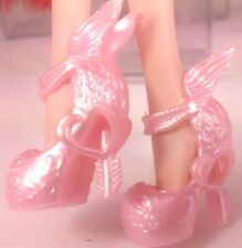 Pink C.A.Cupid Ever After Monster High Unpainted Winged Doll Shoes USA Seller