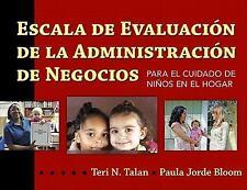 Escala de Evaluacion de la Administracion de Negocios para el Cuidado de Niños