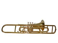 NEW HIGH QUALITY SOUND! BRASS POLISH Bb FLAT 3 VALVE TRUMBONE+ CASE+MOUTHPIECE