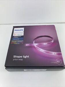 Philips Hue 6.6 Ft / 80 in. Smart Lightstrip Plus Dimmable LED Light
