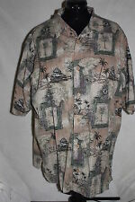 Men's Clearwater Outfitters Hawaiian Camp Shirt Mens X Large 100% Cotton