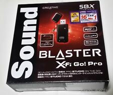 Sound Blaster X-Fi Go! Pro r2 Creative USB Audio Interface SB-XFI-GPR2 from JP