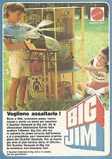 X0639 Il Quartier generale di Big Jim - Mattel - Pubblicità del 1983 - Advertis.