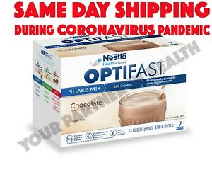 OPTIFAST 800 POWDER SHAKE | 6 BOXES | CHOCOLATE | 42 SERVINGS | FRESH & NEW