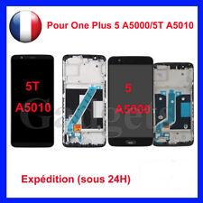 Ecran LCD Pour OnePlus 5 A5000/5T A5010 Complet Tactile Display Noir +Cadre