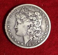 Morgan Silver  Dollar 1880 S ,toned, Nice Coin