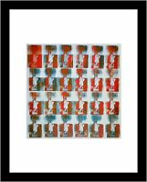 The Statue of Liberty welcomes all New York Kunstdruck Poster Rizzi Platte 38