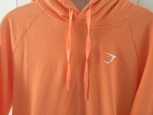Gym Shark Gymshark Citrus Orange hoody jumper M lovely look
