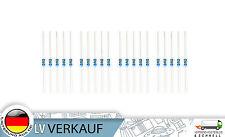 20St 2Kiloohm Metallfilm-Widerstände Widerstand 0,25W 1% für Arduino Raspberry
