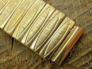 Vintage Eton USA Gold Filled Expansion Watch Band 16mm Pre-Owned Bracelet