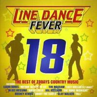 Various Artists : Line Dance Fever 18 CD (2007) ***NEW*** FREE Shipping, Save £s
