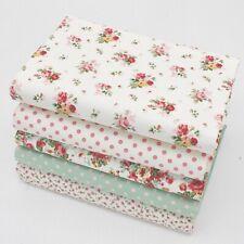 Matières Grasses Quarts Paquet - Rose Et Hubble Floraux De Crème X 5 - - Coton