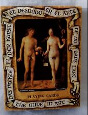 Carte da gioco Fournier Spagna The Nude in Art El Desnudo en el Arte 55 pz