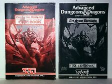 AD&D DUNGEONS & DRAGONS EYE OF THE BEHOLDER COMPUTER GAME RPG CLUE & RULE BOOKS