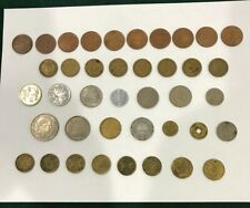 Set of 40 coins from Asia ,Middle East and North Africa. Pre owned. 20th century