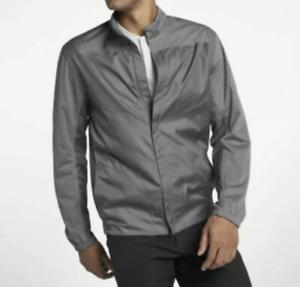 Nike Golf Jacket Mens XL New Shield Lightweight Full Zip Wind Water Resistant